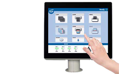 Smart Multi-Touch Control