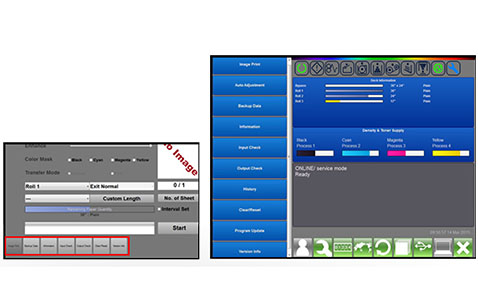 KIP Touchscreen Technical Interface