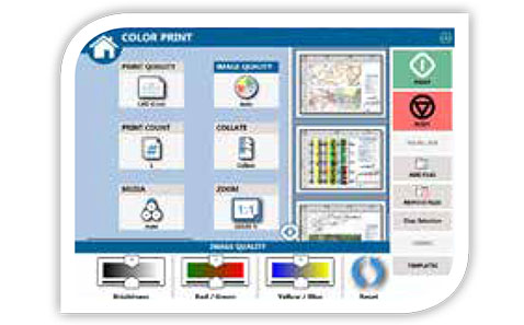 KIP Colour Copy & Print Plus